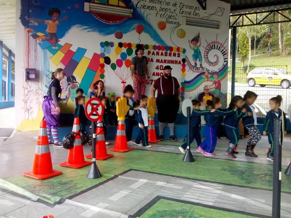 Sindseg SP participa do Programa de Educação para o Trânsito do município de Ribeirão Pires
